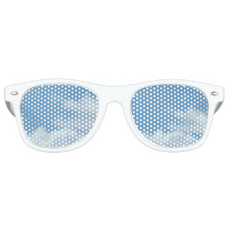 Adult Retro Party Shades, blue sky Party Shades