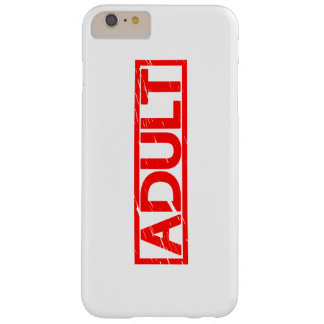 Adult Stamp Barely There iPhone 6 Plus Case