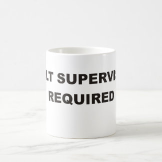 Adult Supervision Required Mug.1 Coffee Mug