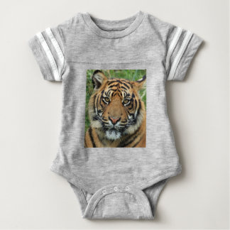 Adult Tiger Baby Bodysuit