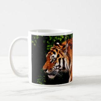 Adult Tiger Wild Cat Coffee Mug