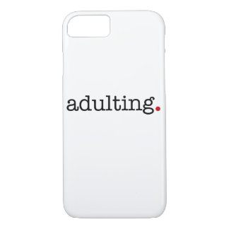 adulting Case-Mate iPhone case