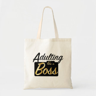 Adulting like a Boss | Basic Tote