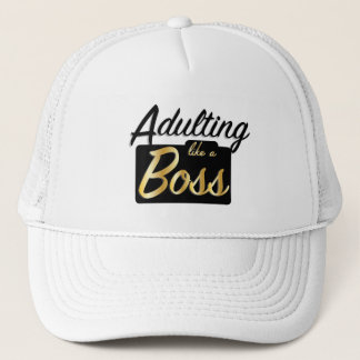Adulting like a Boss | Hat
