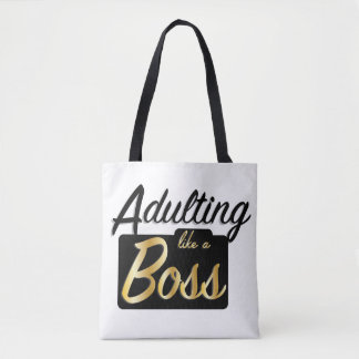 Adulting like a Boss | Tote Bag