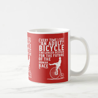Adults and Bicycles Mug