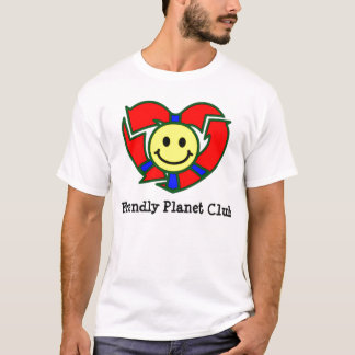 Adults Friendly Planet Club T-Shirt