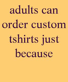 adults shirts