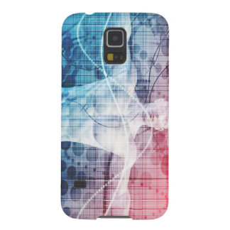 Advanced Technology and Science Abstract Galaxy S5 Cases