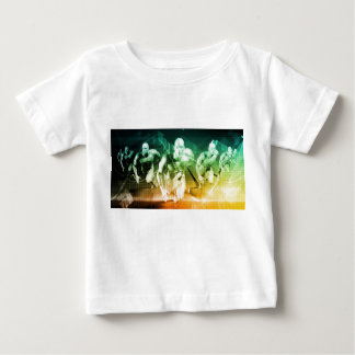 Advanced Technology as a IT Concept Background Baby T-Shirt