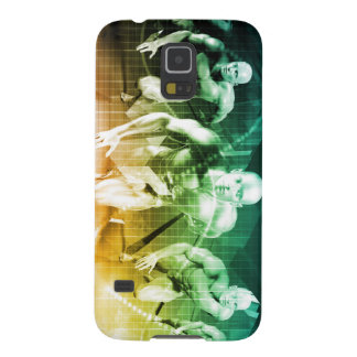 Advanced Technology as a IT Concept Background Cases For Galaxy S5