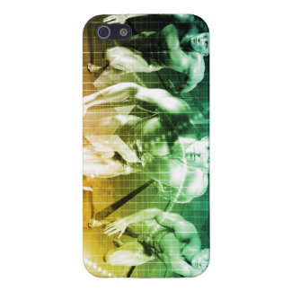 Advanced Technology as a IT Concept Background iPhone 5/5S Case