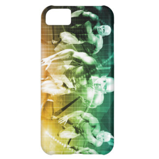 Advanced Technology as a IT Concept Background iPhone 5C Case