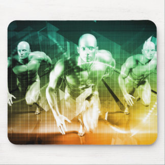 Advanced Technology as a IT Concept Background Mouse Pad