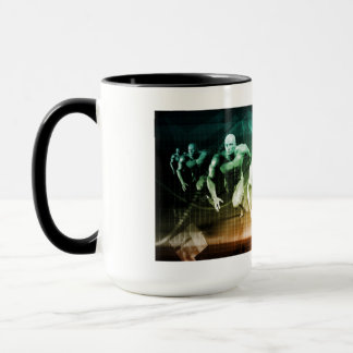 Advanced Technology as a IT Concept Background Mug