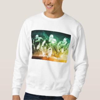 Advanced Technology as a IT Concept Background Sweatshirt