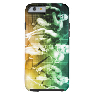 Advanced Technology as a IT Concept Background Tough iPhone 6 Case