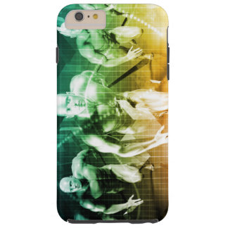 Advanced Technology as a IT Concept Background Tough iPhone 6 Plus Case