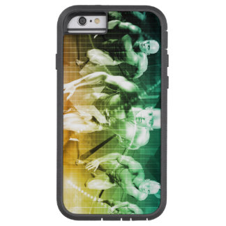 Advanced Technology as a IT Concept Background Tough Xtreme iPhone 6 Case