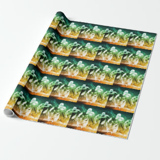Advanced Technology as a IT Concept Background Wrapping Paper