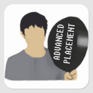 Advanceed Placement Square Sticker