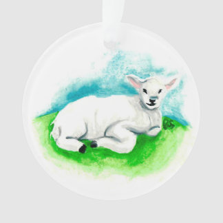Advent Jesse Tree Lamb Ornament