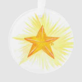 advent Jesse Tree Star Ornament