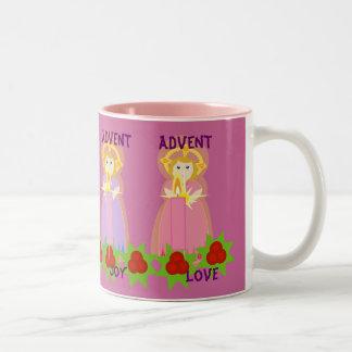 ADVENT Mug-Customize Two-Tone Coffee Mug