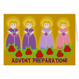 ADVENT Preparation! -Customize Card