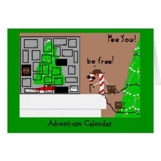 Advent-ure Calendar Card
