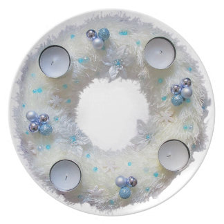 advent wreath plate