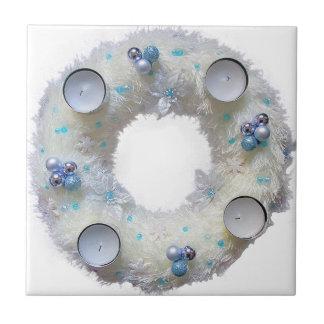 advent wreath tile