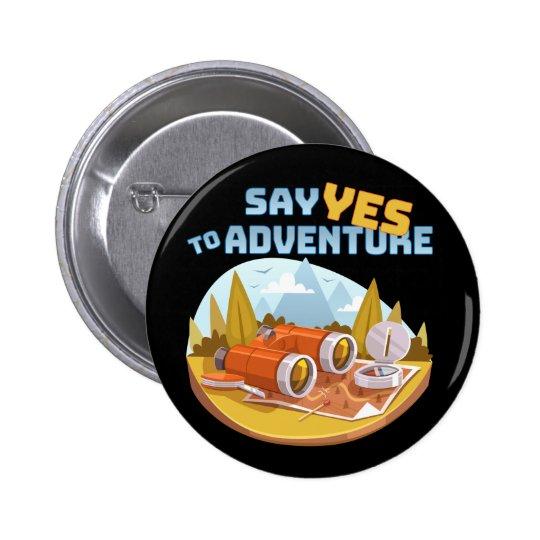 Adventure, 2¼ Inch Round Button
