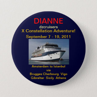 ADVENTURE 3 INCH ROUND BUTTON