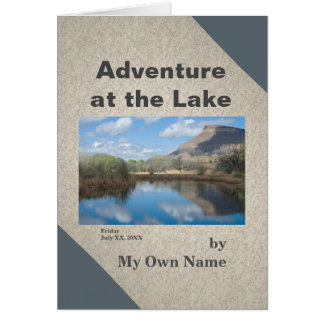 Adventure at the Lake Mini-Memoir Template