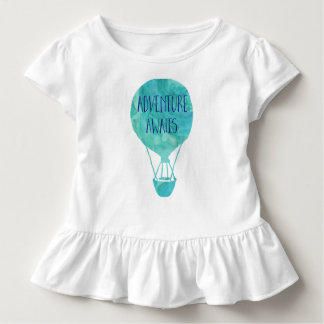 Adventure Awaits Hot Air Balloon Toddler Shirt