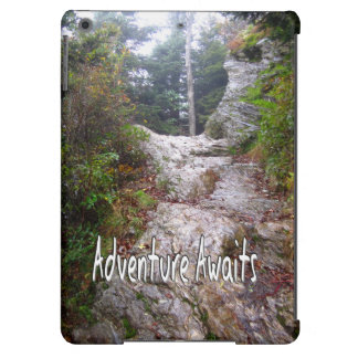 Adventure Awaits just over the Trail iPad Air Cover