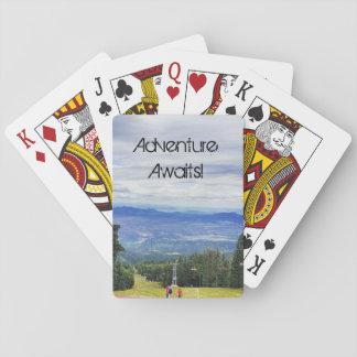 Adventure Awaits Poker Deck