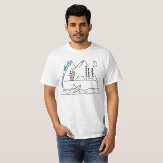adventure awaits: sketch T-Shirt