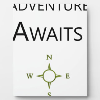 Adventure Awaits Wee One BEAUTIFUL Plaque