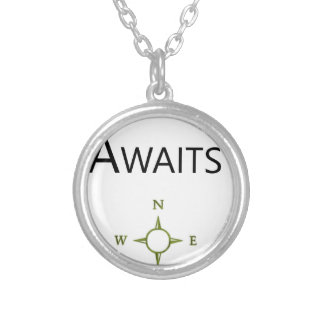 Adventure Awaits Wee One BEAUTIFUL Silver Plated Necklace