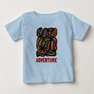 """Adventure"" Baby Fine Jersey T-Shirt"
