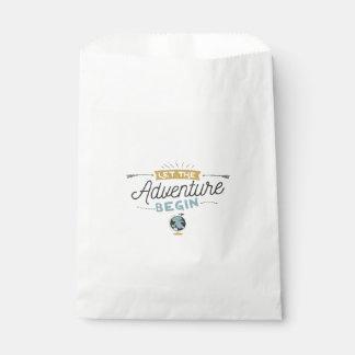 Adventure Baby Shower favor bags