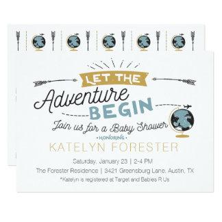 Adventure Baby Shower Invitation