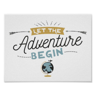 Adventure Baby Shower sign