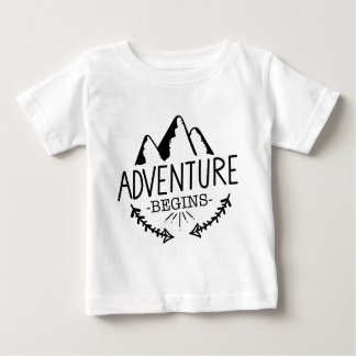 Adventure Begins Baby T-Shirt