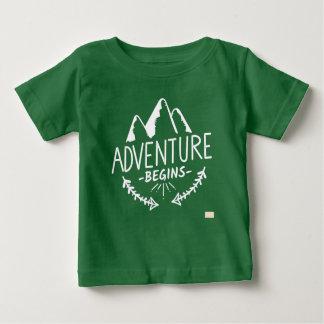 Adventure Begins Baby T-Shirt