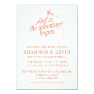 Adventure Begins | Destination - Invite