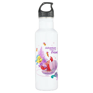 Adventure Begins With Friends 710 Ml Water Bottle