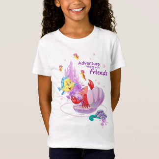 Adventure Begins With Friends T-Shirt